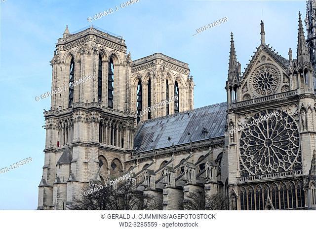 FRANCE, Paris, Notre-Dame de Paris,