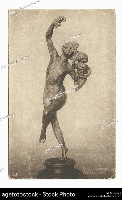 Bacchante, F. W. MacMonnies. Detroit Publishing Company postcards 60000 Series. Date Issued: 1898 - 1931 Place: Detroit Publisher: Detroit Publishing Company...