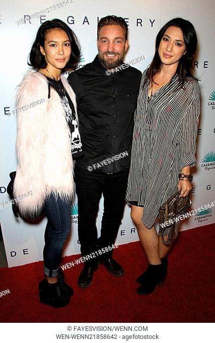 Brian Bowen Smith's WILDLIFE Show Hosted By Casamigos Tequila Featuring: Nicole Branch,Brian Bowen Smith,Michelle Branch Where: West Hollywood, California