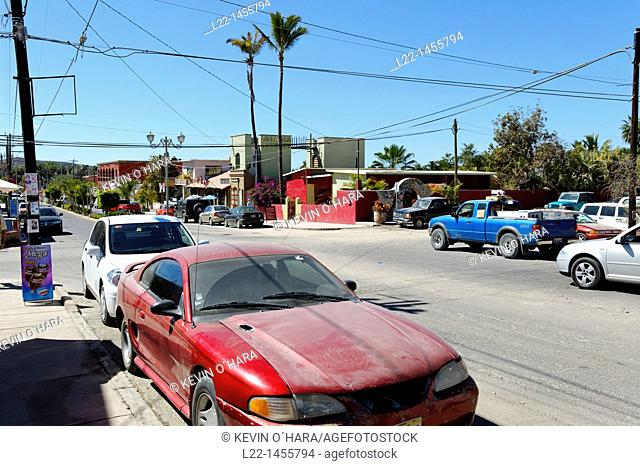 Todos Santos town. Pacific coast side of the peninsula. Baja California. Mexico