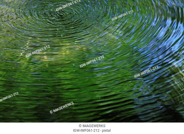 Rippled water
