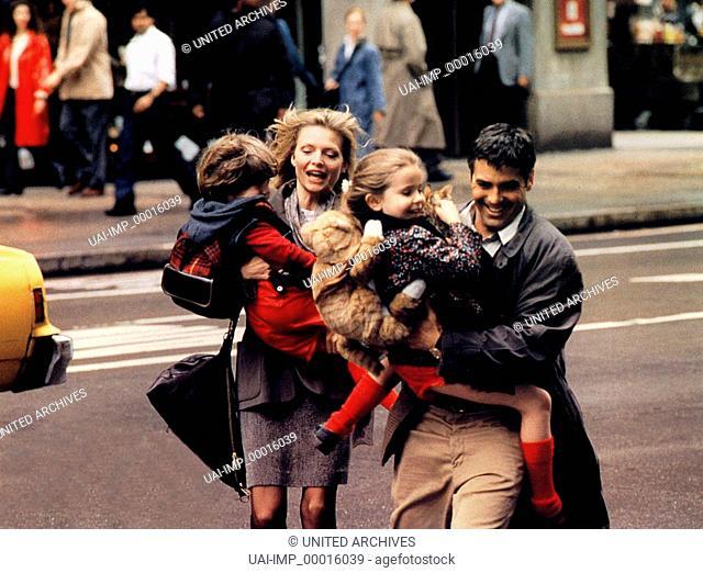 Tage wie dieser ..., (ONE FINE DAY) USA 1997, Regie: Michael Hoffman, ALEX D. LINZ, MICHELLE PFEIFFER, MAE WHITMAN, GEORGE CLOONEY, Stichwort: Straße