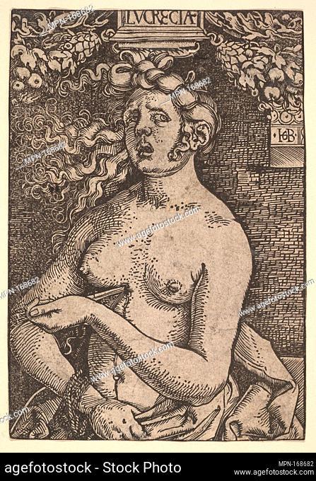 Lucretia. Artist: Hans Baldung (called Hans Baldung Grien) (German, Schwäbisch Gmünd (?) 1484/85-1545 Strasbourg (Strassburg)); Date: ca