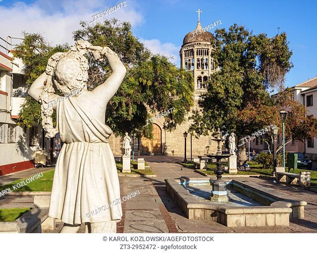 Santo Domingo Church, La Serena, Coquimbo Region, Chile