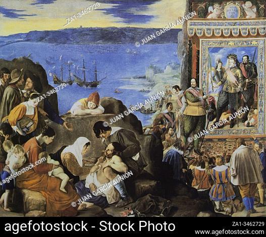 The Recovery of Bahia de Todos los Santos painted by Juan Bautista Maino, 1634. Museo del Prado, Madrid