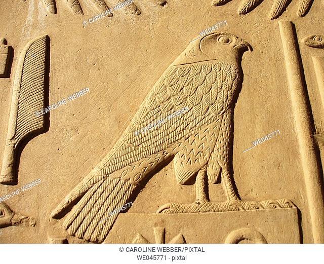 Horus at Karnak Temple