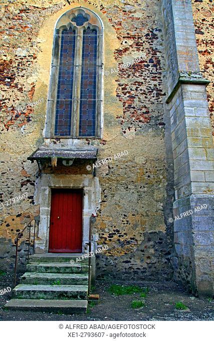 Church of Sant Amand, St Amand en Puisaye, France