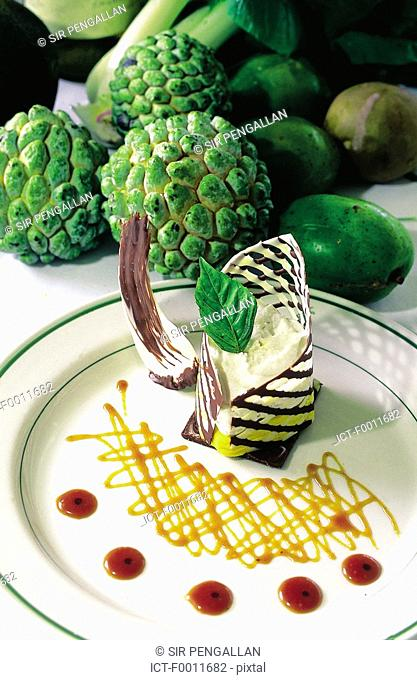 Jamaica, Montego Bay, local gastronomy, dessert