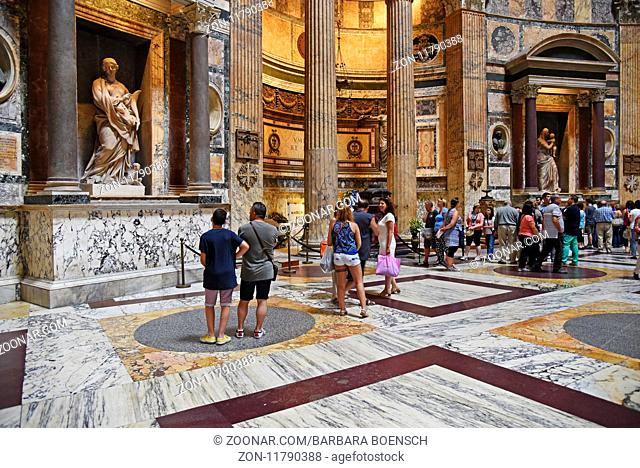 Pantheon, basilica, Rome, Italy, Europe, Pantheon, Kirche, Rom, Italien, Europa
