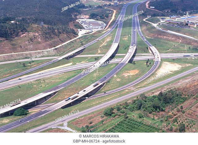 Anhanguera Highway, Sao Paulo, Brazil