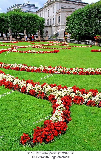 Gardens, Salzburg, Austria