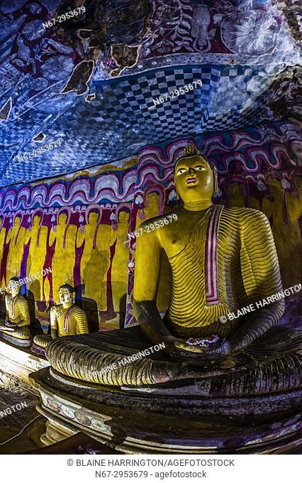 Dambulla Cave Temples, Dambulla, Central Province, Sri Lanka