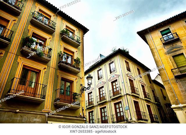 Cathedral of Granada Square(Granada, Spain, Europe, Andalusia)