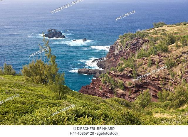 Hawea Point, Northwest, Maui, Hawaii, USA, Island
