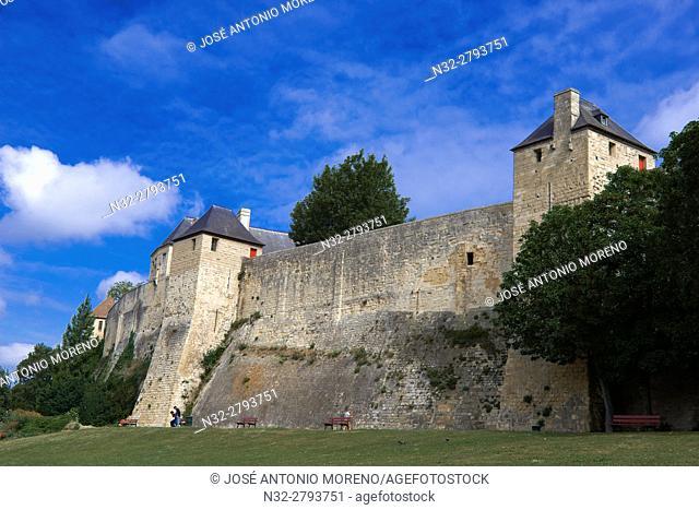 Château de Caen, Ducal Castle, Caen, Normandy, France