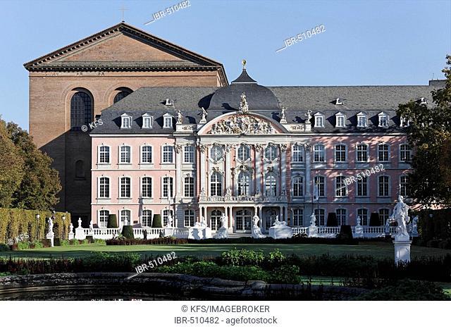 Palace of the prince elector, Basilika, Trier, Rhineland-Palatinate, Germany