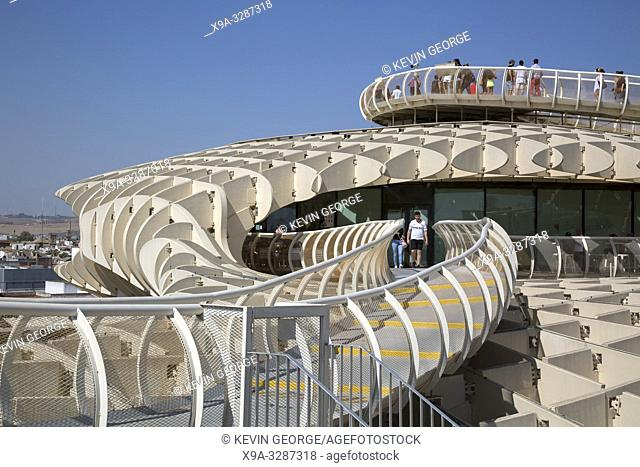 Setas - Metropol Parasol; Seville; Spain;