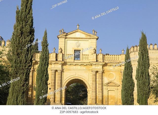 Cordoba gate in Carmona Seville province Spain
