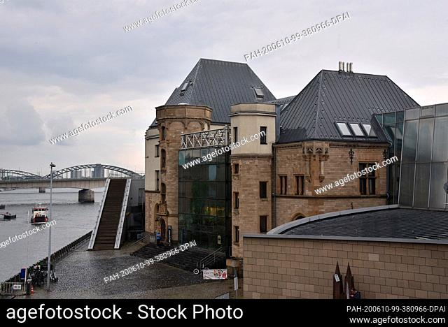 10 June 2020, North Rhine-Westphalia, Cologne: View of chocolate museum Photo: Horst Galuschka/dpa. - Cologne/North Rhine-Westphalia/Germany