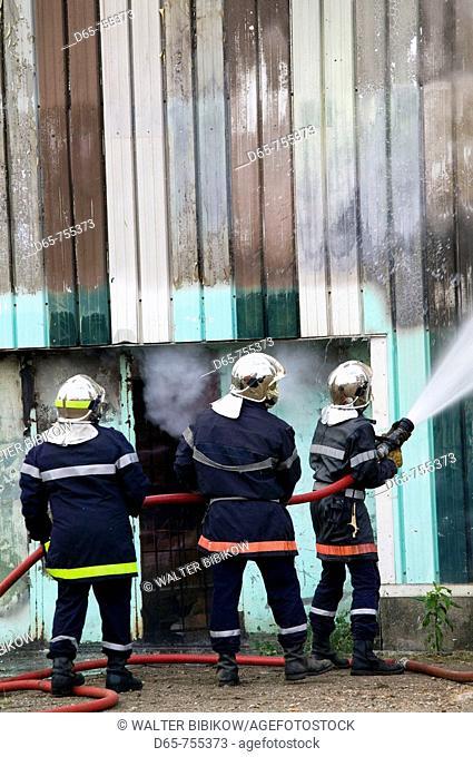 New Caledonia - Grande Terre Island - Noumea: Firefighters
