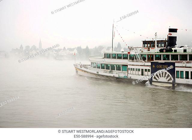 Braubach, Rhine River, Western Germany