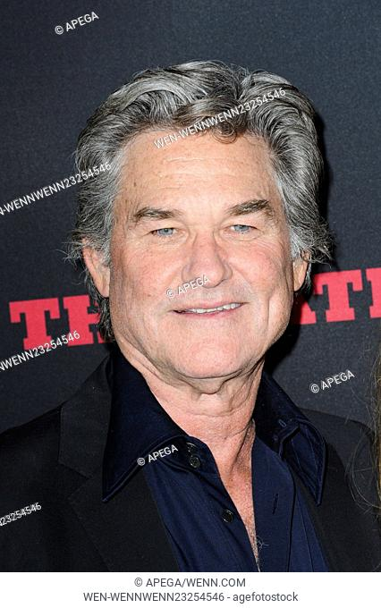 The Hateful Eight premiere at ArcLight Hollywood Cinerama Dome - Arrivals Featuring: Kurt Russell Where: Los Angeles, California