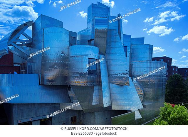 Weisman Art Museum Minnesota University Campus Minneapolis Minnesota Usa