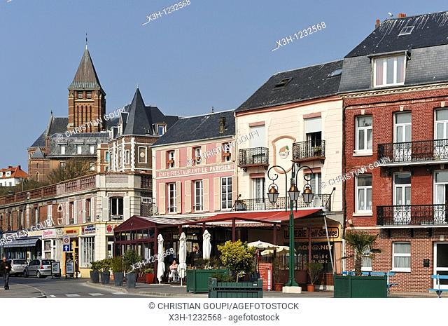 Mers-Les-Bains, Somme department, Picardie region, France, Europe