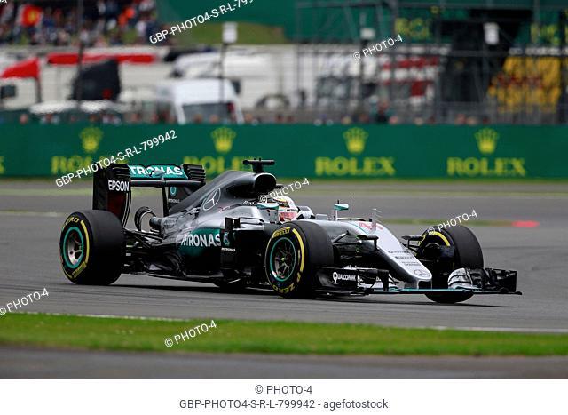 09.07.2016 - Qualifying, Lewis Hamilton (GBR) Mercedes AMG F1 W07 Hybrid