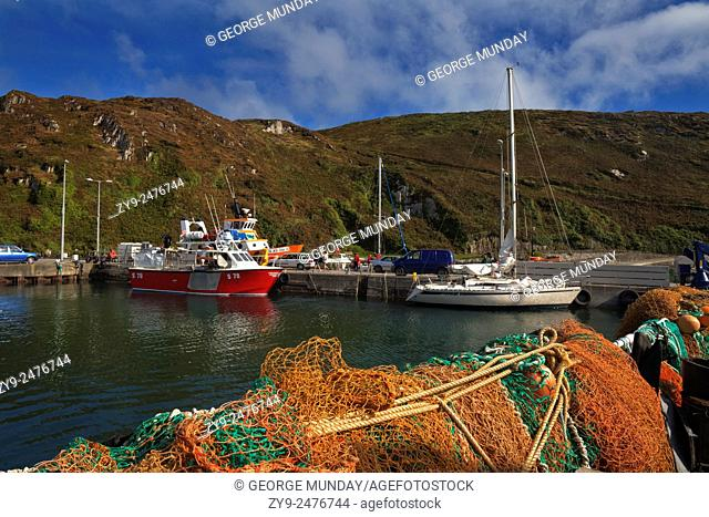 The North Harbour,. Cape Clear Island,. County Cork, Ireland