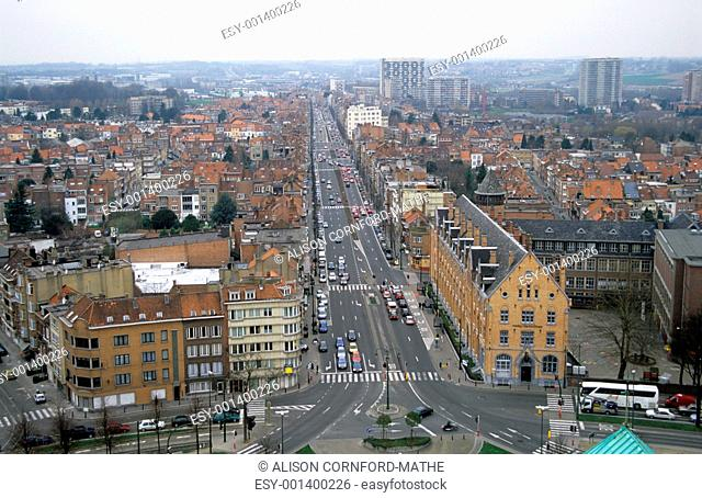 Brussels from Above