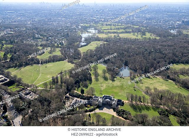 Kenwood House and Parliament Hill, Hampstead, London, 2018. Creator: Historic England Staff Photographer