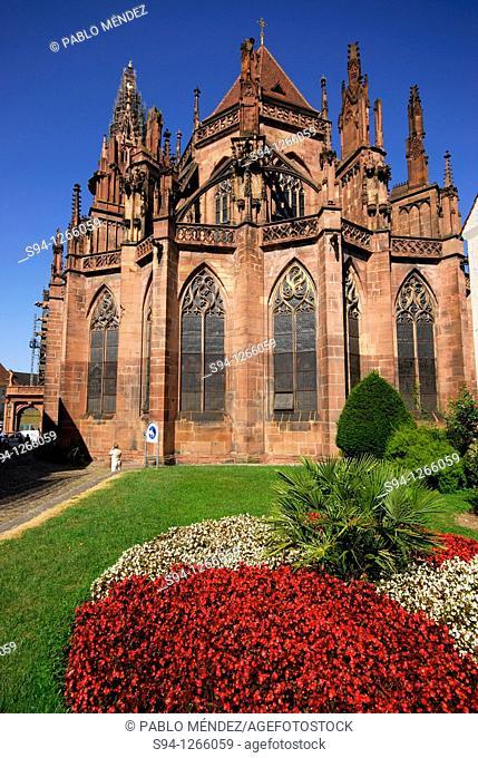 Münster or Cathedral of Freiburg, Baden-Württemberg, Germany