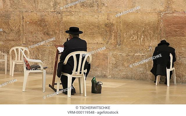 Wailing Wall, Jerusalem, Israel, Middle East