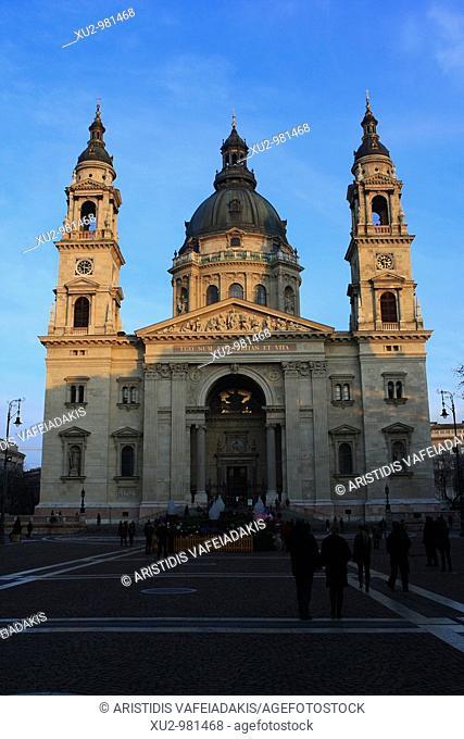 Budapest, Hungary - St Stephen's Basilica