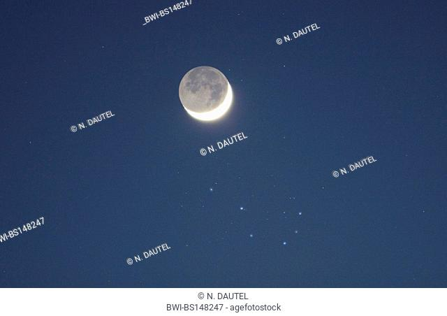 Crescent and Pleiades, Germany, Baden-Baden