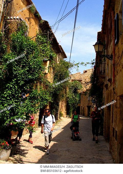 old town of Peratallada, Spain, Costa Brava