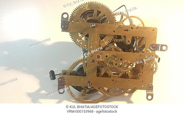 Tick-tock, the inner workings of a clock