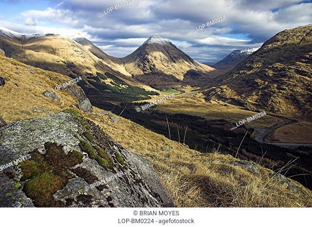 Scotland, Highland, Fort William, Glen Etive view