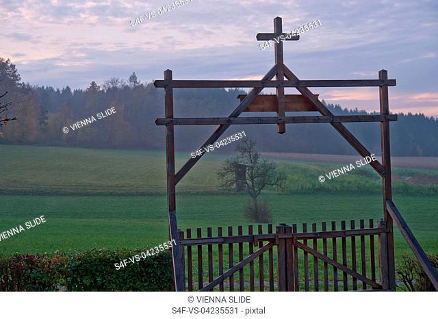 Österreich, Wieselburg, Soldatenfriedhof
