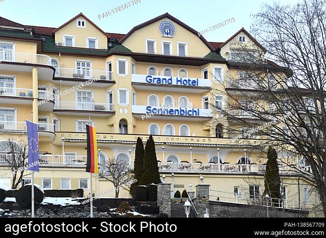 The Grand Hotel Sonnenbichl In Garmisch Partenkirchen Exterior View Building Stock Photo Picture And Rights Managed Image Pic Pah 138567711 Agefotostock