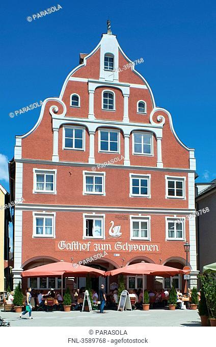 Gasthof zum Schwanen, Memmingen, Bavaria, Germany, Europe