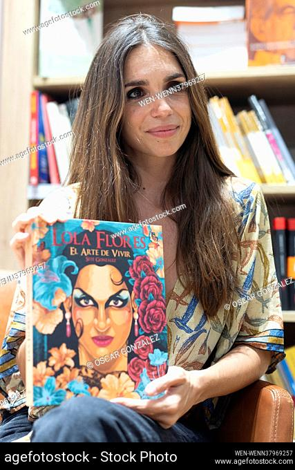 """Actress Elena Furiase at a book presentation for """"""""Lola Flores: The art of living"""""""" in Madrid, Spain Featuring: Elena Furiase Where: Madrid"""