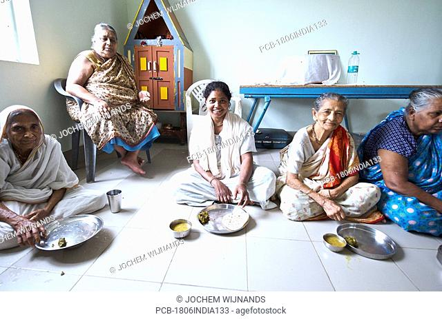 India, Vrindavan, the Ma Dham ashram for Widows of the Guild of Service