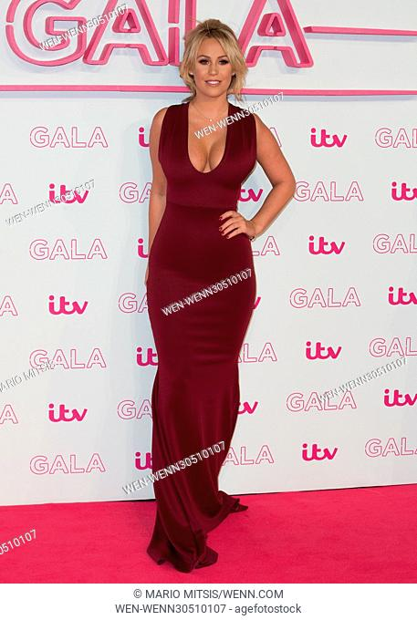The ITV Gala held at the London Palladium - Arrivals Featuring: Katie Wright Where: London, United Kingdom When: 24 Nov 2016 Credit: Mario Mitsis/WENN