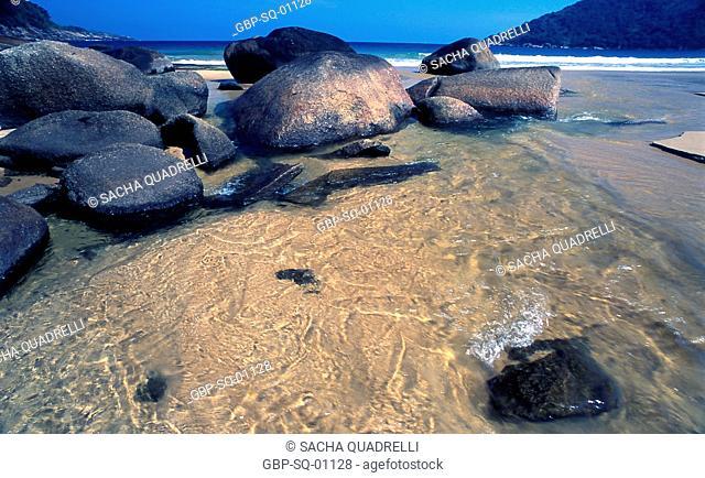 Rio, find, sea, Ilha Grande, RJ