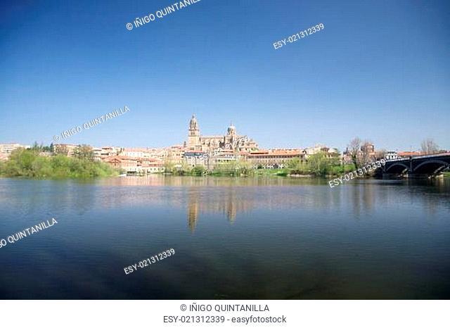 Salamanca city landscape