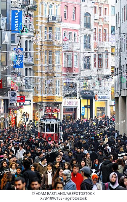 Istanbul  Turkey  Istiklal Caddesi