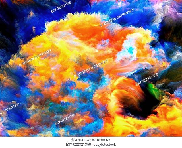 Fractal Paint Background