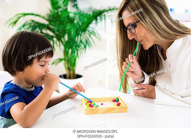 Child psychology session
